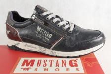 Mustang Herren Schnürschuhe Schnürschuh Sneakers Halbschuh 4106 blau NEU!