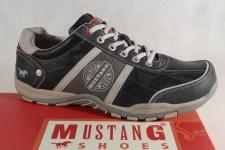 Mustang Herren Schnürschuhe Schnürschuh Sneakers Halbschuh 4027 stein/grau NEU!