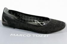 Marco Tozzi Ballerinas Slipper Halbschuhe Pumps schwarz 22107 NEU!!