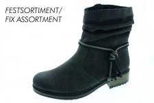 Rieker Damen Stiefel Stiefeletten Boots Winterstiefel grau gefüttert Z6893 NEU