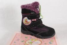 Lillifee Mädchen Stiefel Stiefeletten Boots Leder Tex violett/ schwarz NEU!
