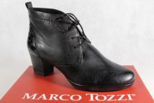 Marco Tozzi Damenstiefel Stiefel Stiefeletten Schnürstiefel, Leder, 25106 NEU!