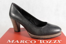 Marco Tozzi Pumps Ballerina Slipper schwarz weiche Innensohle 22439 NEU!