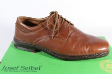 Seibel Herren Schnürschuh, Halbschuh Sneaker braun, Lederinnensohle, 37220 NEU!