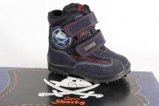 Capt'n Sharky Tex Stiefel Stiefeletten Boots Winterstiefel blau NEU