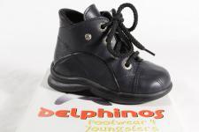 Mega Gaga Stiefel Stiefeletten Boots Leder blau SP. 10, 00 € NEU