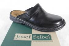 Seibel Clogs Sabot Pantoletten schwarz Echtleder 10663 Neu!!!