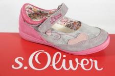 s.Oliver Ballerina grau/ pink, Lederinnensohle NEU!!