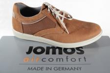 Jomos Schnürschuhe Halbschuhe Sneakers Leder braun 316309 NEU