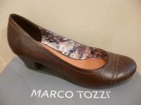 Marco Tozzi Pumps Slipper Ballerina braun 22307 NEU!