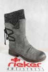 Rieker-Tex Damen Stiefel Stiefeletten grau warm gefüttert 94773 NEU!