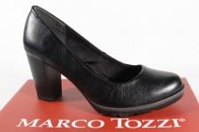 Marco Tozzi 22404 Pumps Slipper Trotteur schwarz weiche Innensohle NEU!