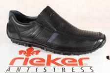 Rieker Slipper Halbschuhe Sneaker schwarz Leder 08985 NEU!!