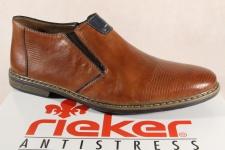 Rieker Herren Slipper, Sneaker, Halbschuh, braun, Echtleder 13451 NEU