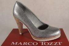 Marco Tozzi Pumps Ballerina Slipper silber 22401 NEU!