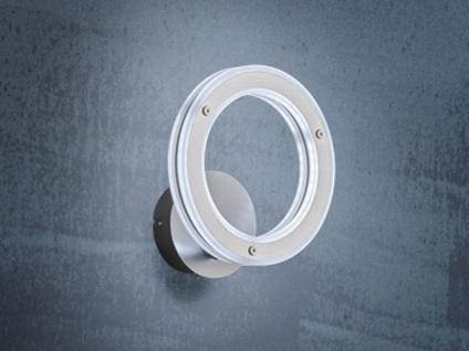 LED Wandlampe Design Ring mit Schalter dimmbar & Farbwechsel - Wandbeleuchtung