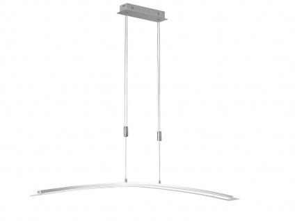 LED Hängeleuchte 135cm dimmbar & höhenverstellbar, Pendellampe warmweiß kaltweiß