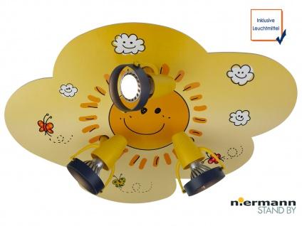 LED Deckenstrahler SUNNY 3flammig, Spots schwenkbar, Wolkenlampe *NEU* - Vorschau 1