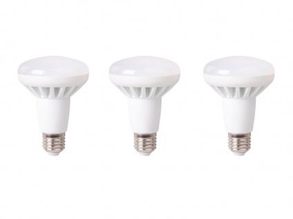 3er-Set LED Leuchtmittel warmweiß 10W - 650 Lumen, E27, 3000 Kelvin