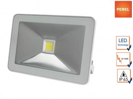 20W LED Baustrahler Strahler weiß, Fluter Scheinwerfer Arbeitsleuchte Flutlicht