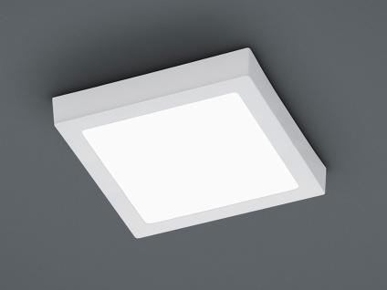 LED Flurbeleuchtung flache puristische Deckenleuchte für den Flur eckiges Design