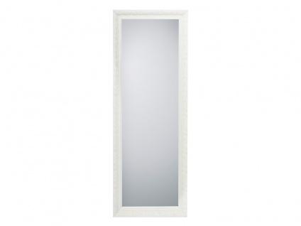 Barock Wandspiegel mit Holzrahmen in Weiß Ganzkörperspiegel für Flur & Garderobe