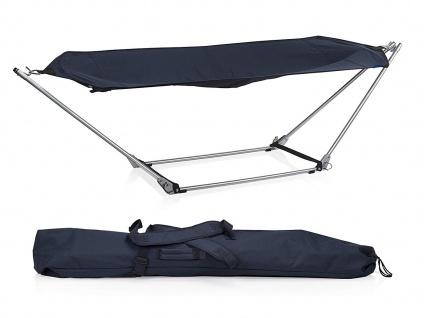 2 Stück OUTDOOR Liegen mit Hängemattengestell klappbar für Camping Balkon Garten - Vorschau 2