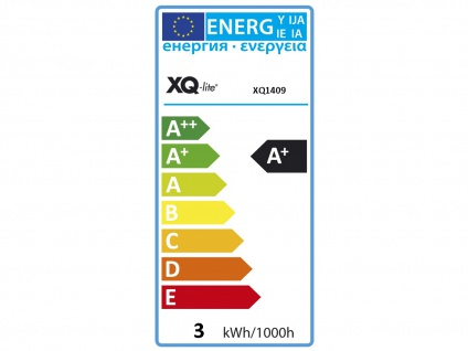 5er-Set LED-Leuchtmittel Reflektor 3Watt, 6500 Kelvin, 230 Lumen, GU10 XQ1409 - Vorschau 3