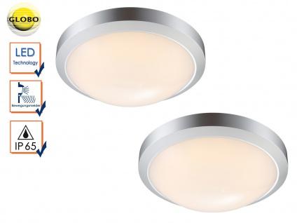 2er Set LED Außenleuchten mit Bewegungsmelder, Deckenlampen Wandleuchten außen
