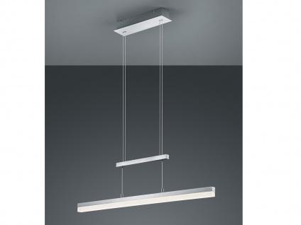 LED Pendelleuchte, Hängelampe höhenverstellbar, dimmbar, Alu / Acrylglas, Trio - Vorschau 3