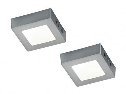 Deckenleuchte Deckenlampe Deckenbeleuchtung ZEUS 2er Set 12 x 12 cm Trio