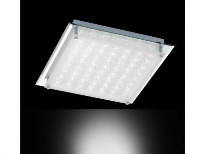 2er Set LED Deckenleuchte MORA, Chrom, LED Deckenlampen Deckenleuchte - Vorschau 5