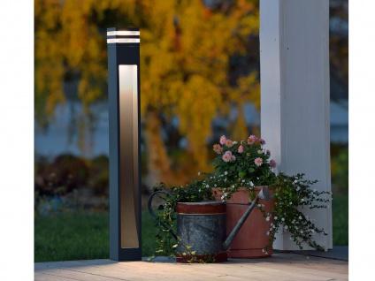 2er-Set Wegeleuchten MASSA anthrazit, 8 Watt HP-LED, 800 Lumen, IP54 - Vorschau 5