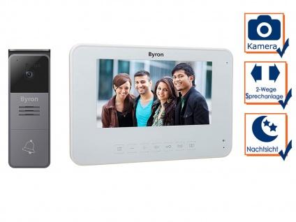 Einfamilienhaus Video Türgegensprechanlage mit Nachtsichtkamera & 7 Zoll Display