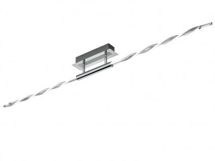 LED Deckenleuchte Chrom poliert 28W mit Switch Dimmer - Wohnzimmerleuchten