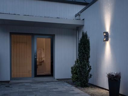 2er-Set dimmbare UP/DOWN Außenwandleuchten POTENZA austauschbares LED Modul - Vorschau 3
