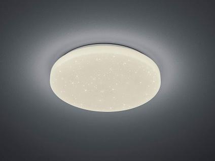 Dimmbare LED Deckenleuchte Lampe mit Sternenhimmel, Fernbedienung &Farbwechsel