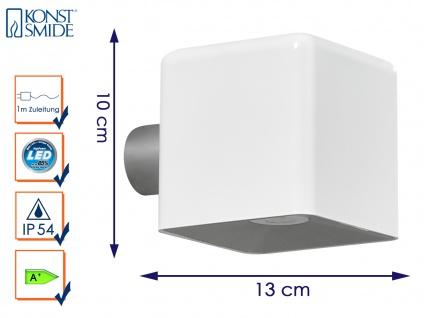 LED Außenwandleuchte AMALFI, weiß, 3 Watt, 200 Lm, inkl. Trafo Wandleuchte