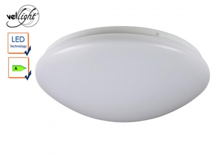 LED Deckenleuchte rund Deckenlampe weiß 38, 5cm, Deckenbeleuchtung Flur Diele