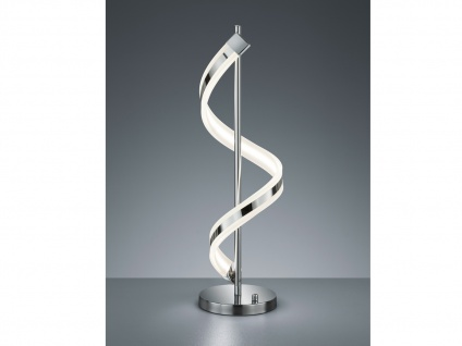 LED Tischleuchte Tischlampe SYDNEY, Chrom, H. 63 cm, inkl. Drehdimmer, Trio
