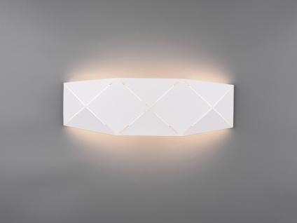 Ausgefallene LED Wandleuchten, flache Wandlampen für Treppenhaus, Innenwand groß