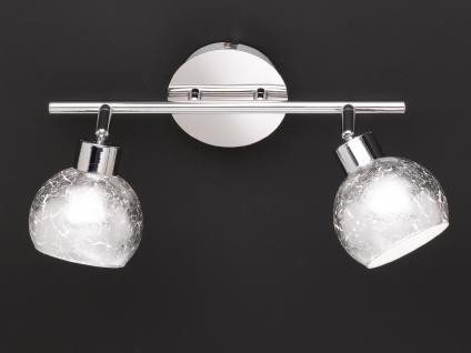 Design LED Deckenleuchte Spots drehbar Silber G9, Wohnraumleuchte Dielenlampen - Vorschau 3