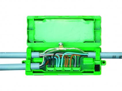 Elro verwendungsbereite Kabelanschlussdose (Boden), MDI-frei