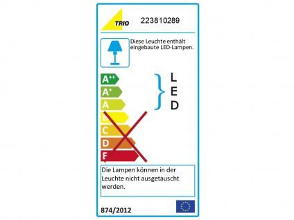 LED Wandleuchte Wandlampe AURORA in Chrom und Silber, Ø 20 cm, 2x LED, Trio - Vorschau 4