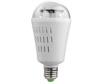 LED Deko Leuchtmittel E27, Stimmungsleuchtmittel Sterne, mit Motor - Vorschau 2