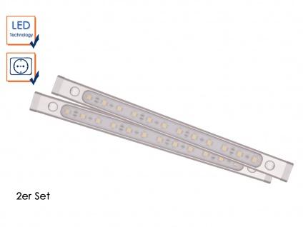 SET: 2 LED-Unterbauleuchten á 30cm inkl. LED-Treiber Möbeleinbauleuchten