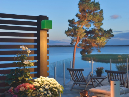 LED Außenwandleuchte AMALFI, grün, Wandleuchte Wandstrahler Wandspot - Vorschau 4