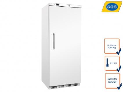 Gastro Gefrierschrank 520 Liter, -10°C/-25°C, Tiefkühlschrank Profi, GGG