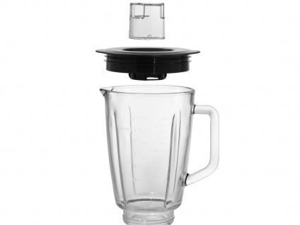 Glas Standmixer Edelstahl 500W 1, 5 Liter, Blender Smoothie Maker Bar Mixer - Vorschau 4