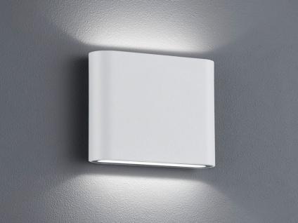 Trio LED Wandleuchte Uplight Downlight THAMES weiß, Wandlampe außen / innen